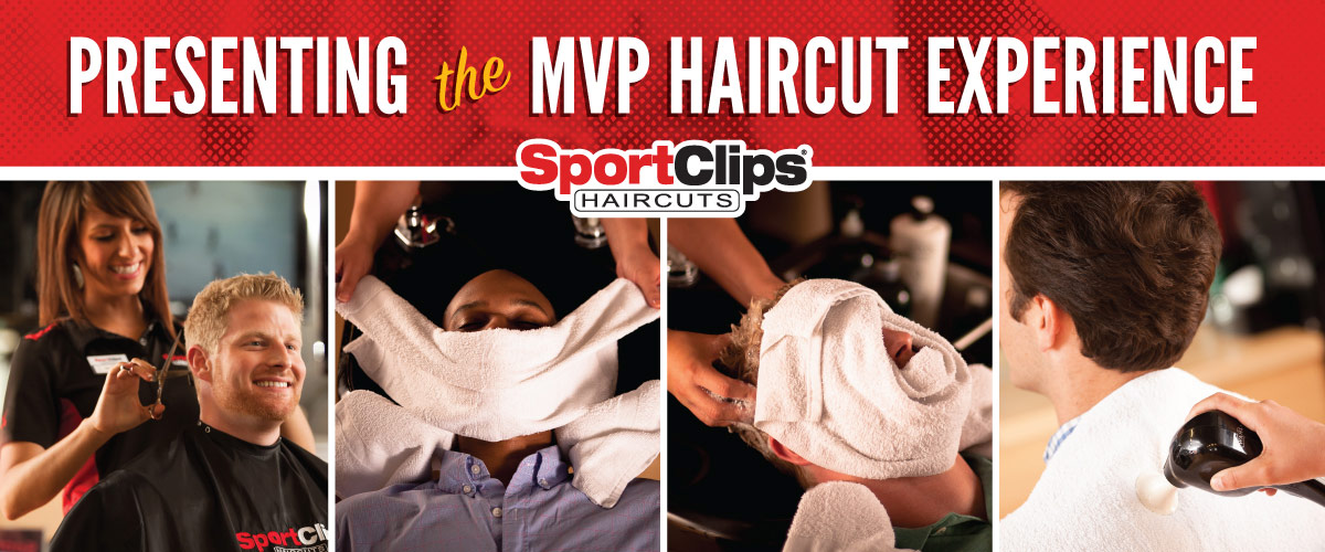 The Sport Clips Haircuts of Calallen MVP Haircut Experience